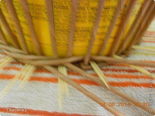 Поделка изделие Плетение После долгих раздумий Бумага газетная Трубочки бумажные фото 13