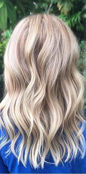 cool blonde highlights - Google Search