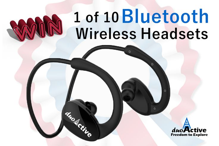 Win 1 of 10 Bluetooth Wireless Headsets. Subscribe now to enter via @Duo_Active  http://upvir.al/ref/b2979196