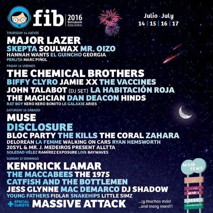 FIB 2016 :: Festival Internacional de Benicàssim