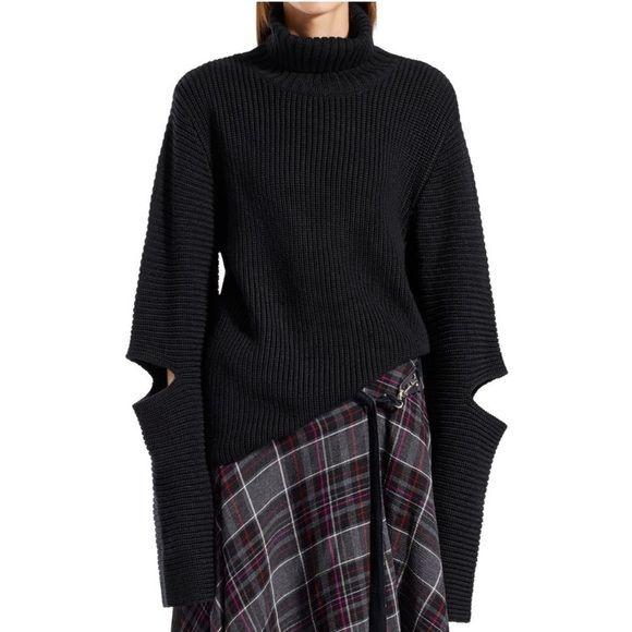 Public School Sweaters - Public School New York Angled Sleeve Pullover