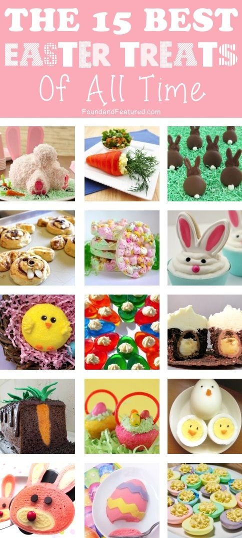The 15 Best Easter Treats Of All Time