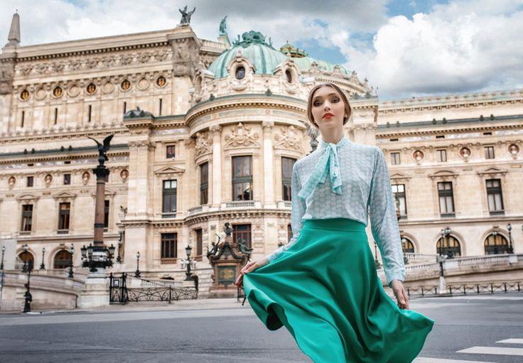 Париж, мон амур: романтический лукбук весенней коллекции Anastasia Kovall | Журнал Cosmopolitan