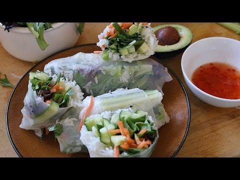 (190) Easy & Healthy Spring Rolls | RECIPE - YouTube
