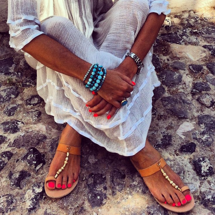 Hippie feeling with Ancient Greek Sandals