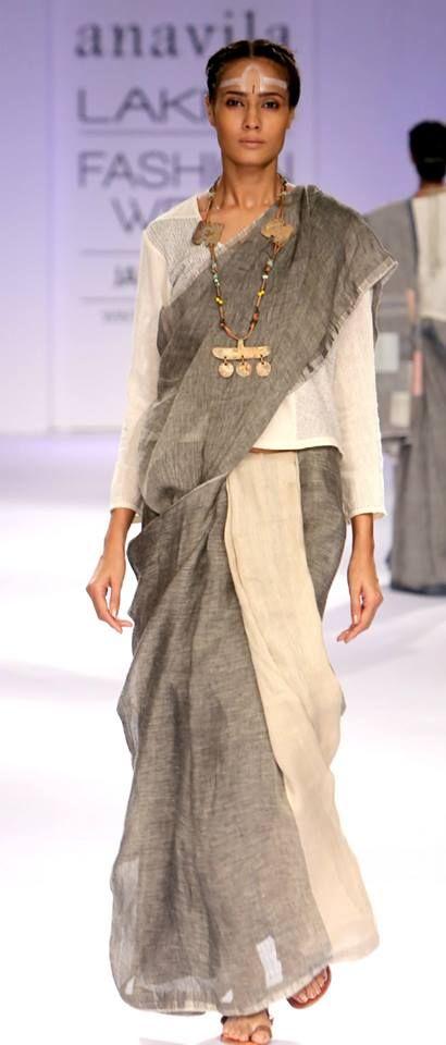 Love Anavila's saris