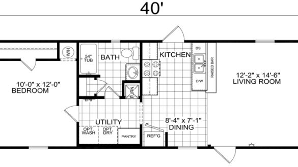 oconnorhomesinc.com | Charming 16x40 House Plans Derksen ...