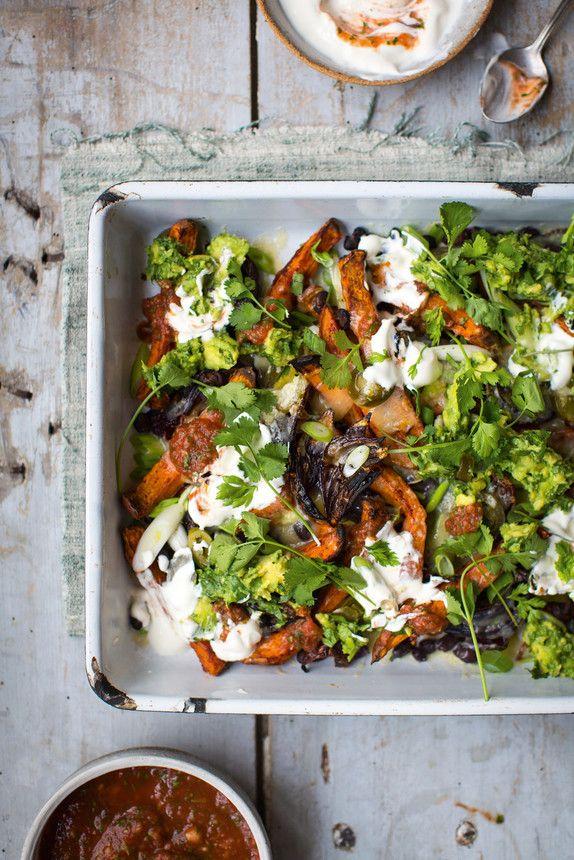 The Pool   Food and home - Sweet potato nachos