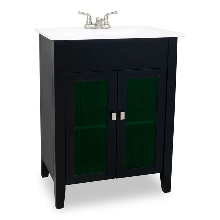 green bathroom cabinet modern style painted black vanity with green glass 16044