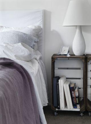 Frisk op derhjemme med hvid maling