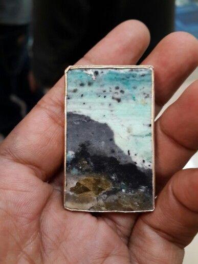 Original natural garoet stone