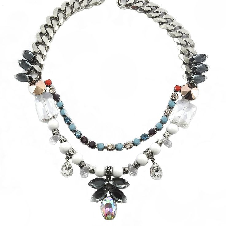 MILTON-FIRENZE Jewelry URBAN CHIC DROP NECKLACE https://www.facebook.com/pages/MILTON-FIRENZE/237831466369428 http://www.boutiqueonclick.com/boutique/Milton-Firenze