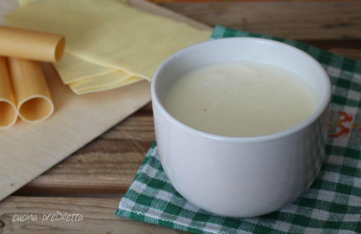 Besciamella per lasagne e cannelloni - cucina preDiletta