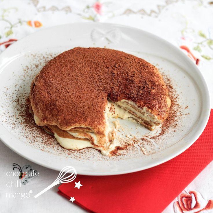 Tiramisu Protein Pancakes - by Chocolate Chilli Mango