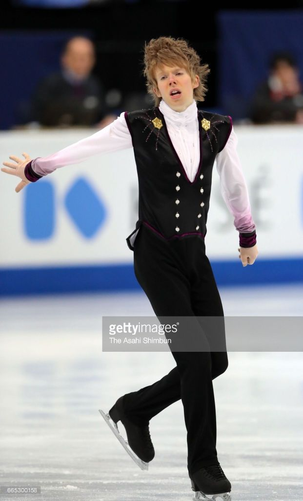 News Photo : Kevin Reynolds of Canada competes in the Men's...