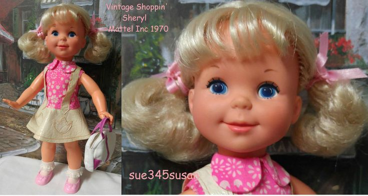 Vintage Mattel Doll Shoppin  Sheryl doll with clothes EVC | eBay