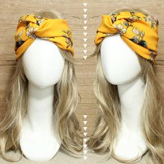 Yellow Chrysan Headband Turban • idr 65,000 or $6.5 • FREE shipping around Indonesia • worldwide shipping • LINE : reginagarde • shop online www.reginagarde.com