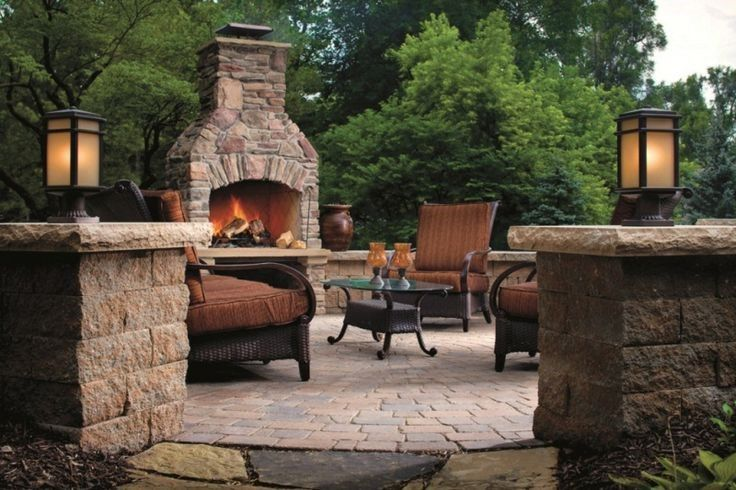 outdoor fire pit ideas | View our Landscape Design and Installation photo gallery by clicking ...