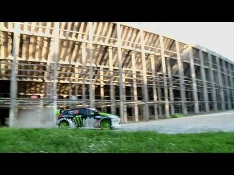 Ken Block's Gymkhana THREE, Part 2; Ultimate Playground; l'Autodrome, France