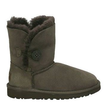 Ugg Chocolate Bambini Bailey Button Stivali 5991