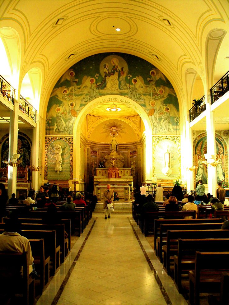 chapel of our lady of the miraculous medal 140 rue du bac paris the chapel holds the. Black Bedroom Furniture Sets. Home Design Ideas