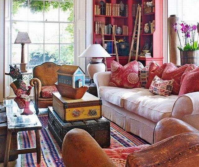 Ez az összeállítás a nappali ki- és átalakításához ad szín- és stílusbeli ötleteket.Mottó: Ha lakberendezni akarsz, gyűjtsd a képeket mindarról, ami tetszik! És azután?...  ...