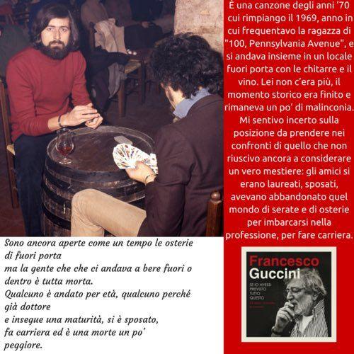 Tweet multimediali di Francesco Guccini (@GucciniOfficial) | Twitter
