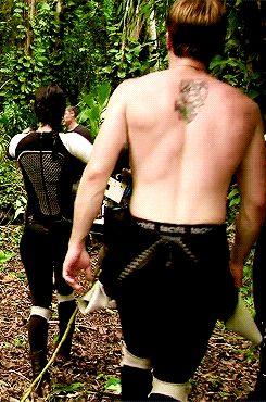 Josh Hutcherson gif - Peeta Mellark - Hunger Games