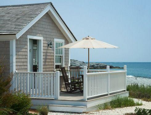 Beach cottage: shingle sides
