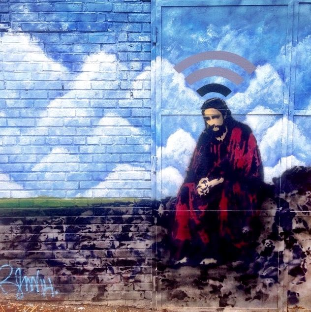 new by Rene Gagnon in Queens, New York, 4/15 (LP) #streetart jd
