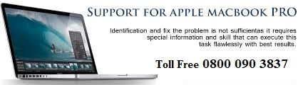 Call us at anytime for any technical support for your MacBook. We are a third party service provider.