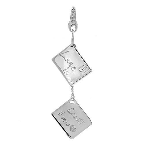 Superb pendant beautifully designed in 925 sterling silver. Total item weight 2.6g. Length 57mm.
