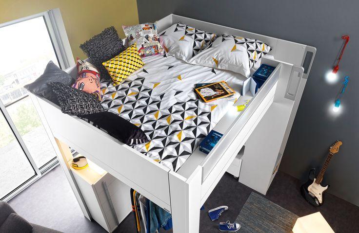 mobilier de chambre enfant collection dimix meubles. Black Bedroom Furniture Sets. Home Design Ideas