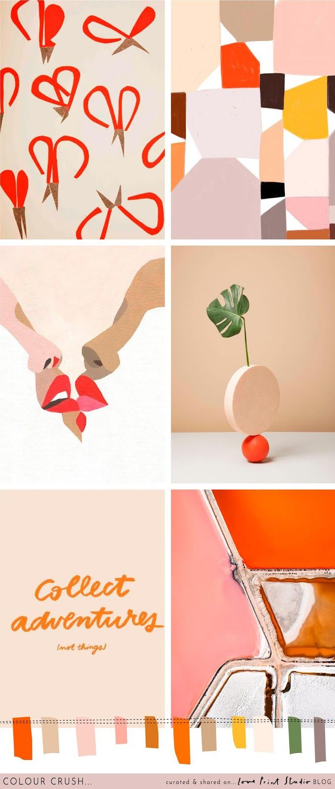 A perfect palette for the start of autumn. Terracotta just seems to work in any combination at the moment doesn't it, it can do no wrong! Colour Schemes, Color Combos, Color Palettes, Colour Trends, Design Trends, Pink Tone, Colour Board, Color Inspiration, Color Pop