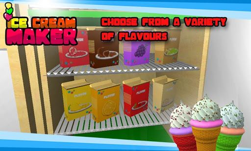 Summer is back! So kids, boys and girls let's have fun with cold and yummy ice desserts. It's the Ice Cream Maker 2 that will let you make delicious ice creams to eat. OH YES, that's a real treat and educational for the little ones to jump in joy and have