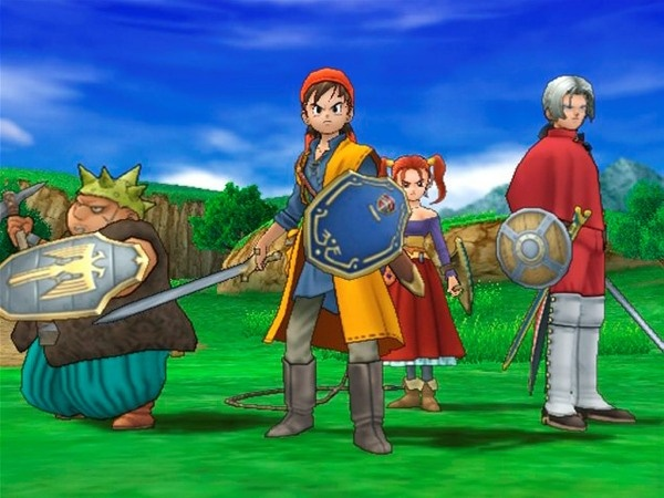 I certainly wouldn't mind an HD remake of this.... It was absolutely brilliant. Dragon Quest 8: Journey of the Cursed King