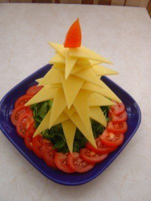 Christmas tree appetizers - Recipes