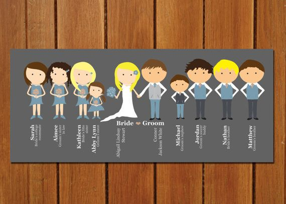 Are Wedding Programs Required? (via EmmalineBride.com) - illustrated programs by b is for brown