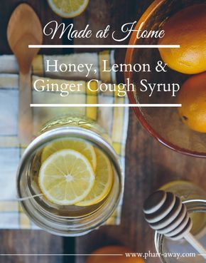 Quick and easy, homemade cough syrup for toddlers (age one and above) using honey, lemon and ginger.