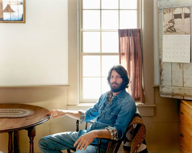 Ray LaMontagne. Jean on jean. Like a boss.