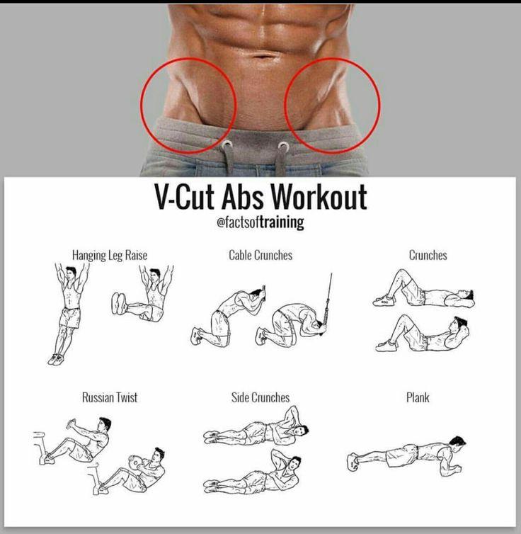V-Cut Abs Workout