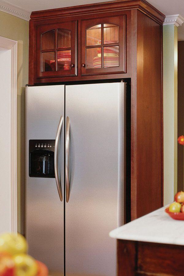 7 best Refrigerator enclosures images on Pinterest | Kitchen ...