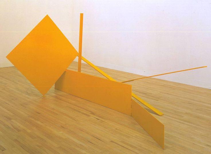 Sir Anthony Caro 'Yellow Swing', 1965 © The estate of Anthony Caro/Barford Sculptures Ltd  http://www.tate.org.uk/art/artworks/caro-yellow-swing-t00799