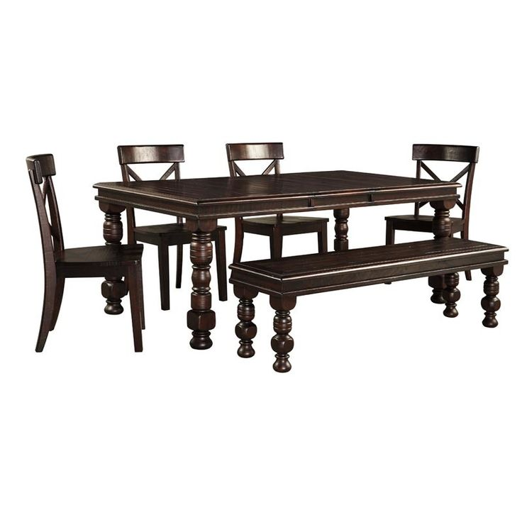 Rustique 6 Piece Dining Set