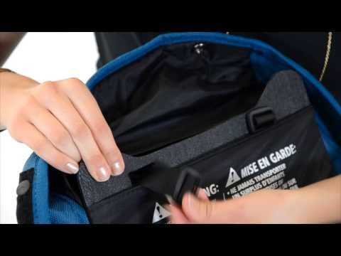 Sometimes snacks spill onto the stroller seat. Gayle from Baby Jogger shows you in this video how to remove the fabric from your City Select Stroller frame t...