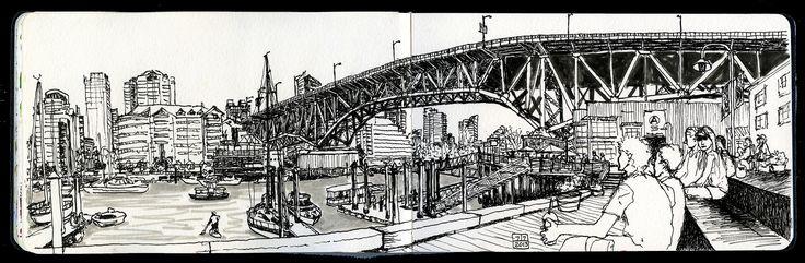 https://flic.kr/p/f5WPWh | Granville Bridge rules | Granville Bridge, as seen…