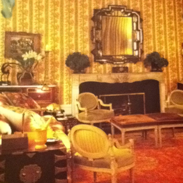 The Paleys Living Room At Kiluna Farm Their Other House On Long Island