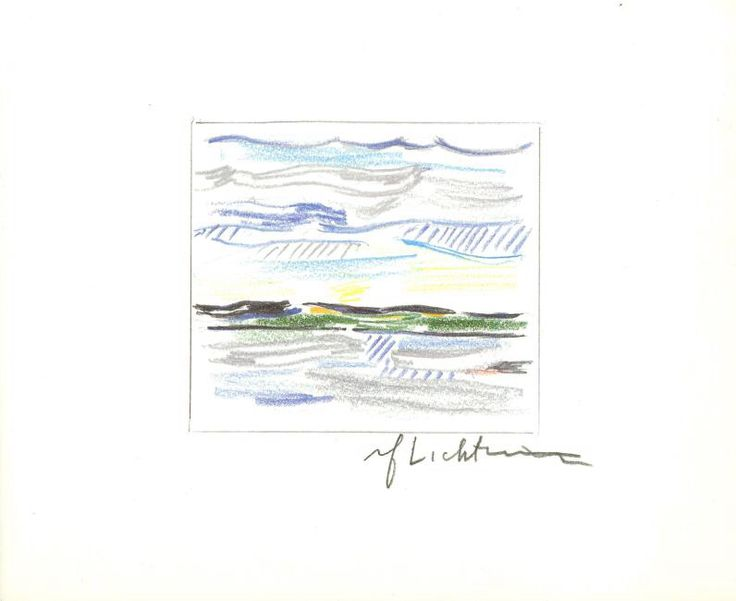 I just discovered this 1859: ROY LICHTENSTEIN - Sky, Land, and Water on LiveAuctioneers and wanted to share it with you: www.liveauctioneers.com/item/59194483