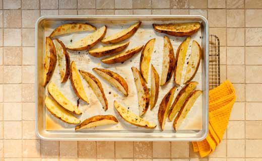 Epicures Oven Baked Potato Wedges