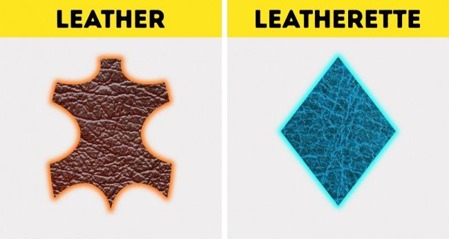 10Kinds ofGenuine Leather and How toTell ItApart From Artificial Leather  How can wetell the difference between genuine leather and fake leather? Ideally, manufacturers would print this information but, unfortunately, wecan't always trust labels. Modern technologies make iteasy toimita... http://onfunzone.com/inspiration/tips-tricks/10-kinds-of-genuine-leather-and-how-to-tell-it-apart-from-artificial-leather/